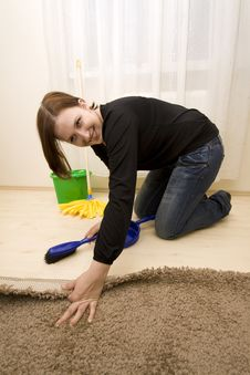 Free House Cleaning Royalty Free Stock Photos - 8654848