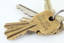 Free Car And House Keys Royalty Free Stock Images - 8655639
