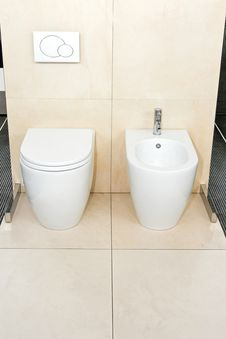 Free Clean Lavatory Royalty Free Stock Photography - 8655827