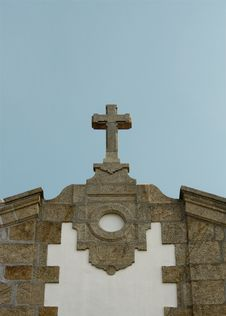Free Church Cross Sky Royalty Free Stock Images - 8655869