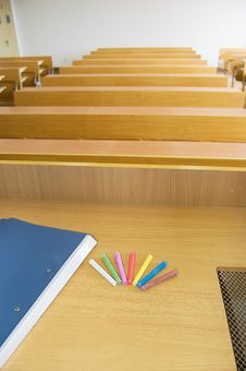 Free University Classrooms Royalty Free Stock Photo - 8656655