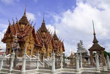 Free Traditional Thai Style Architecture Stock Image - 8656671