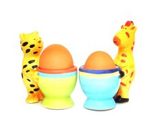 Free Egg Cups Stock Image - 8656711