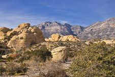 Free Red Rock Canyon Nevada Landscape Stock Photos - 8656723