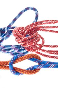 Free Climbing Ropes Royalty Free Stock Image - 8657406