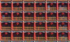 Chinese Lantern Group(4) Stock Images