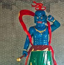 Buddha Statue In Baolin Temple Royalty Free Stock Image