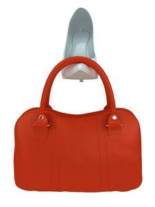 Women S Bag And Shoe Stock Photos