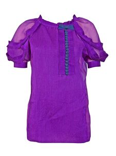 Free Violet Dress Blouse Shirt Royalty Free Stock Photos - 8657738
