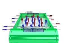 Free Table Football Stock Photos - 8658273