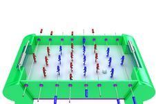 Free Table Football Royalty Free Stock Photo - 8658315