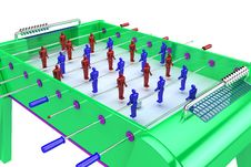 Free Table Football Stock Photo - 8658490