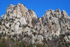Free High Mountain Rocks Stock Image - 8658551