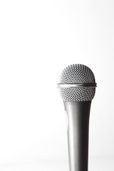 Free Microphone Royalty Free Stock Image - 8659276