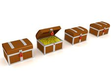 Free Treasure Chest Royalty Free Stock Photo - 8659305