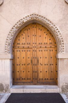 Free Medieval Door Royalty Free Stock Photo - 8659335