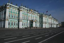 The View Of Hermitage Museum Royalty Free Stock Photo
