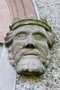 Free Stone Head Of A King Stock Images - 8660024