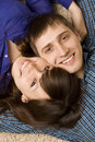 Free Happy Young Couple Smiling Royalty Free Stock Images - 8663569