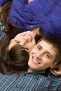 Free Happy Young Couple Smiling Royalty Free Stock Image - 8663586