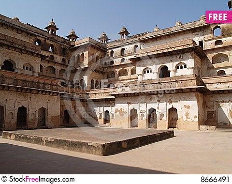 Free Palace In Orcha, Madhya Pradesh Stock Image - 8666491
