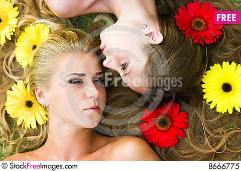 Free Hairs In Flowers Royalty Free Stock Photo - 8666775