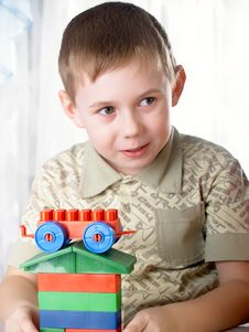 Free Boy Plays Stock Photography - 8660652