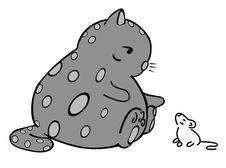 Free Vector Of Cartoon Cat 01. Stock Photography - 8660782