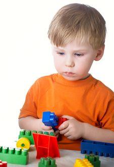 Free Boy Plays Stock Photos - 8660813