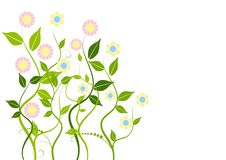 Free Abstract Floral Background Royalty Free Stock Images - 8661049