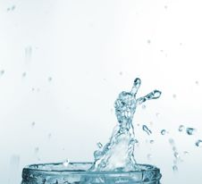Free Splash Of Water Stock Image - 8661191