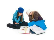 Free The Two Young Students Stock Photos - 8661223