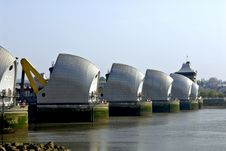 Free Thames Barrier Stock Images - 8661454