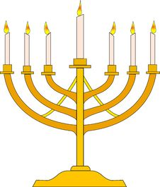 Free Image Of Menorah Symbol Stock Photography - 8661522