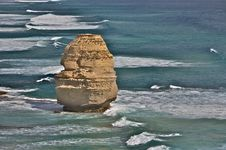 Free A Single Rock Formation Of Twelve Apostles Stock Photo - 8661540