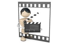 Free Film Industry, Conception Royalty Free Stock Photo - 8661605