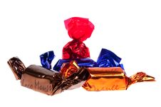 Free Praline In Foil Isolated Stock Image - 8662191