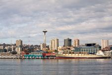 Seattle S Pier 59 Waterfront Royalty Free Stock Photo