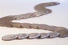Free Coin Snake Stock Photos - 8663173