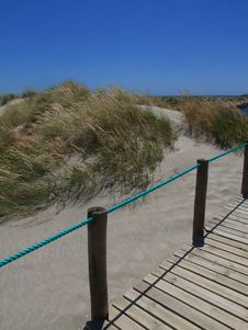 Free Beach Walkway Stock Image - 8663251