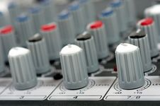 Free Audio Control Console Stock Photos - 8663483