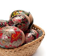 Free Easter Eggs Royalty Free Stock Photography - 8663937