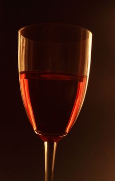 Free Glass Of Red Wine Royalty Free Stock Image - 8664276