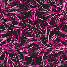 Pink Floral Pattern Stock Photos