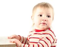 Free Little Blond Boy Stock Photos - 8664913