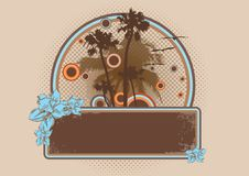 Free Tropical Banner Royalty Free Stock Images - 8664929