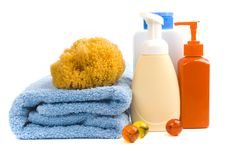 Free Body Care Products Stock Images - 8665804