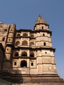 Free Palace In Orcha, Madhya Pradesh Royalty Free Stock Images - 8665979