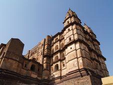 Free Palace In Orcha, Madhya Pradesh Royalty Free Stock Photo - 8666125