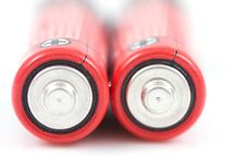 Free Red Battery Royalty Free Stock Photo - 8666245